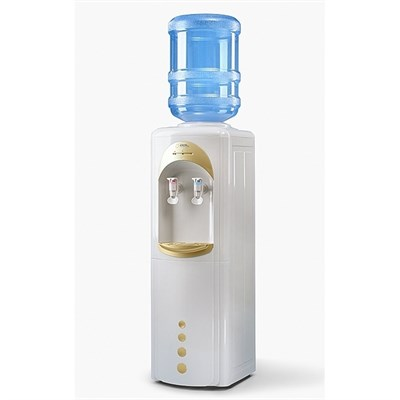 Кулер для воды LC-AEL-17c Gold со шкафчиком