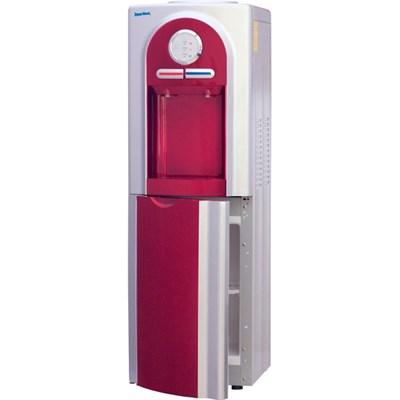 Кулер для воды Aqua Work 5-VB красный со шкафчиком