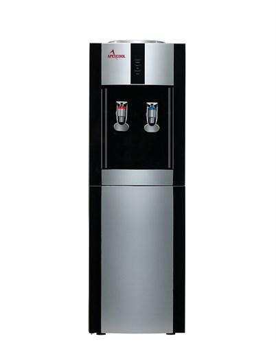 Кулер для воды ApexCool 16 LD черный с серебром
