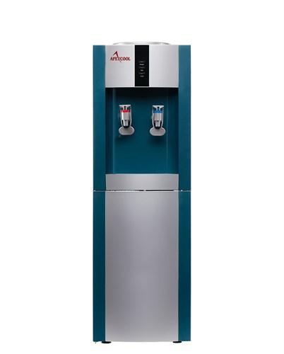 Кулер для воды ApexCool 16 LD голубой с серебром