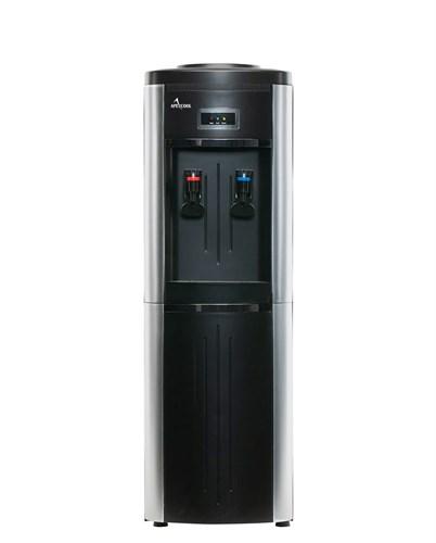 Кулер для воды ApexCool 178 LD черный с серебром
