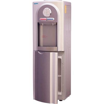Кулер для воды Aqua Work 5-VB серый со шкафчиком