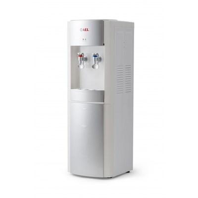 Кулер для воды LD-AEL-28с White/Silver со шкафчиком