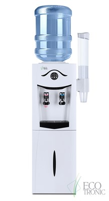 Кулер Ecotronic K21-LF White+Black с холодильником