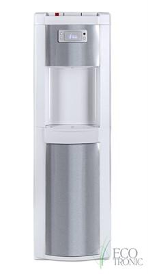 Кулер для воды Ecotronic P9-LX White+SS с нижней загрузкой бутыли