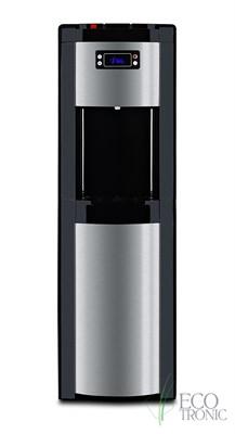 Кулер для воды Ecotronic P9-LX Black с нижней загрузкой бутыли