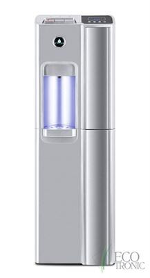 Кулер для воды Ecotronic P7-LX Silver с нижней загрузкой бутыли