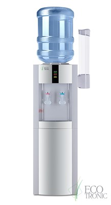 Кулер для воды Ecotronic H1-LCE White со шкафчиком