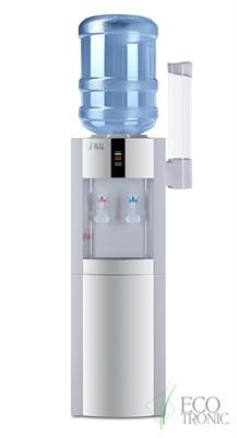 Кулер для воды Ecotronic H1-LE White с двойным блоком охлаждения