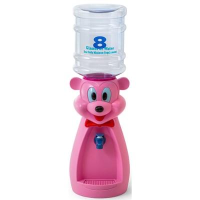 Детский кулер для воды VATTEN kids Mouse Pink со стаканчиком