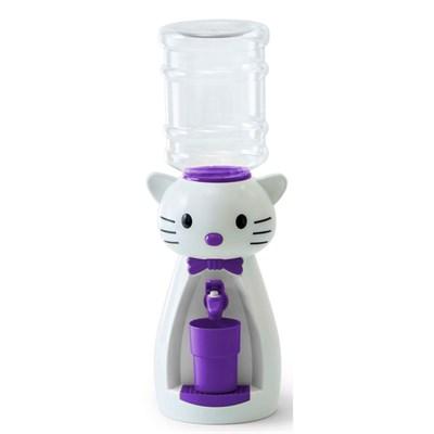 Детский кулер для воды VATTEN kids Kitty White со стаканчиком - фото 8326