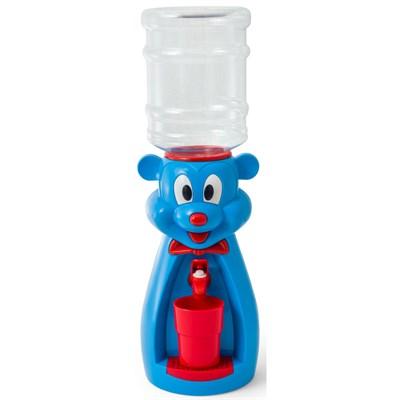 Детский кулер для воды VATTEN kids Mouse Blue со стаканчиком